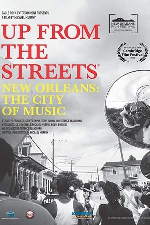 Poster Up From the Streets - New Orleans: The City of Music 2020
