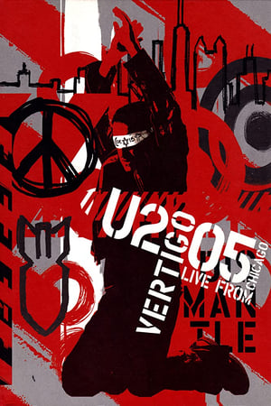 Poster Vertigo 2005 // U2 Live from Chicago 2005