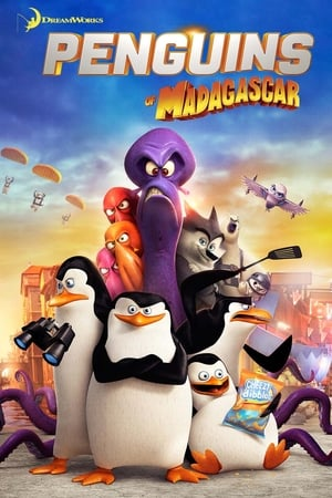 Poster Penguins of Madagascar 2014