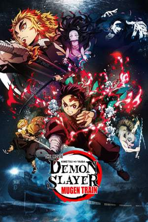 Poster Demon Slayer -Kimetsu no Yaiba- The Movie: Mugen Train 2020