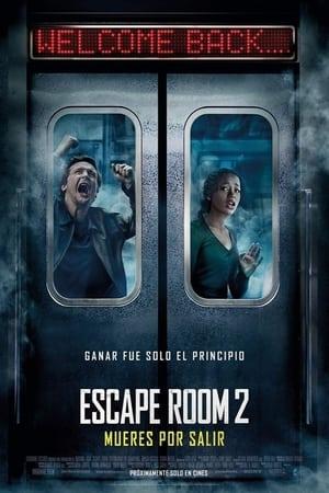 Poster Escape Room 2: Mueres por salir 2021