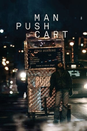 Image Man Push Cart