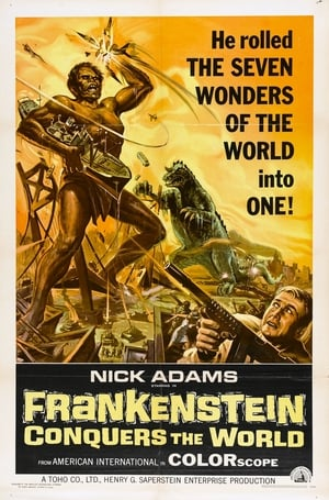 Image Frankenstein vs. Baragon