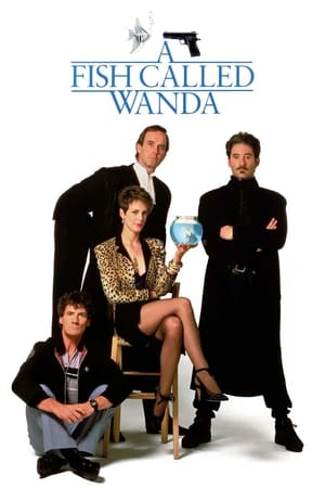 Poster A Fish Called Wanda 1988