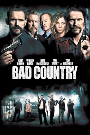 Poster Bad Country 2014