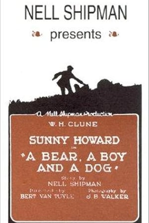 Poster A Bear, a Boy and a Dog 1921