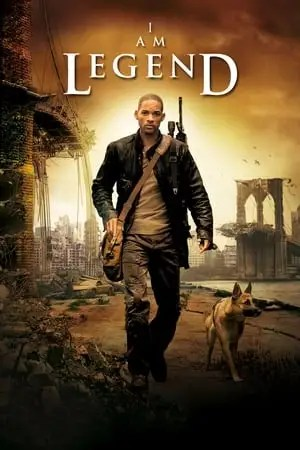 Poster I Am Legend 2007