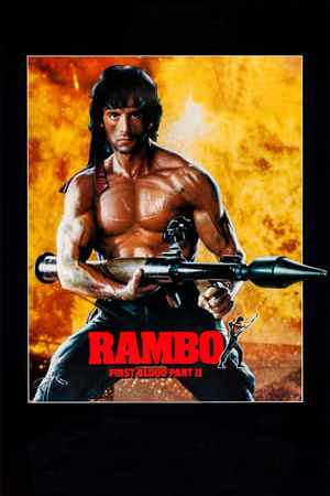 Poster Rambo: First Blood Part II 1985