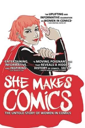 Image She Makes Comics