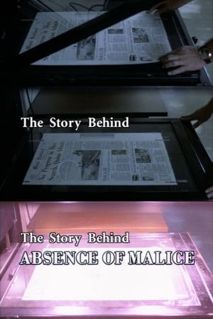 "Poster The Story Behind ""Absence of Malice"" 2001"
