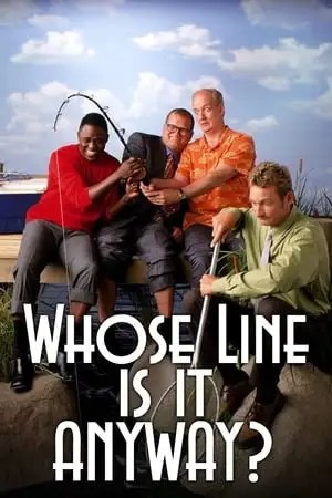 Poster Whose Line Is It Anyway? 1998