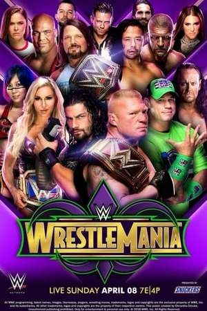 Image WWE WrestleMania 34