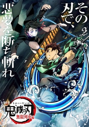 Poster Demon Slayer : Le train de l'infini 2020