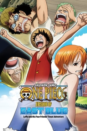 Image One Piece Episode of East Blue Luffy and His 4 Crewmate's Big Adventure