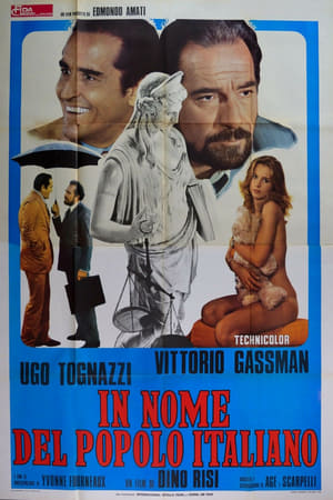 Poster In the Name of the Italian People 1971
