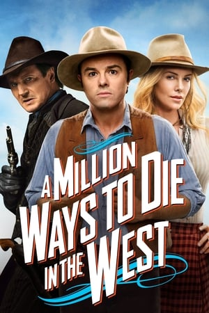 Poster A Million Ways to Die in the West 2014