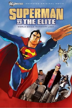 Poster Superman vs. The Elite 2012