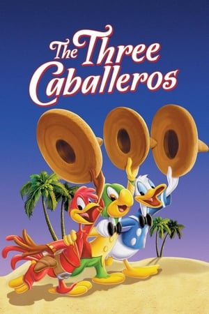 Poster The Three Caballeros 1944