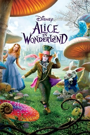Poster Alice in Wonderland 2010