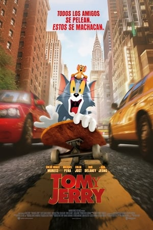 Poster Tom y Jerry 2021