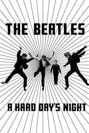 Poster A Hard Day's Night 1964