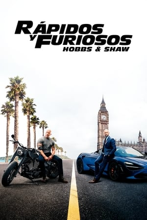 Poster Fast & Furious: Hobbs & Shaw 2019