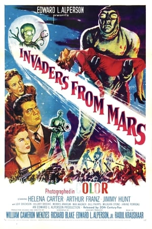 Poster Invaders from Mars 1953