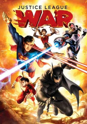 Poster Justice League: War 2014
