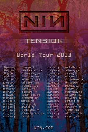Image Nine Inch Nails: Tension 2013