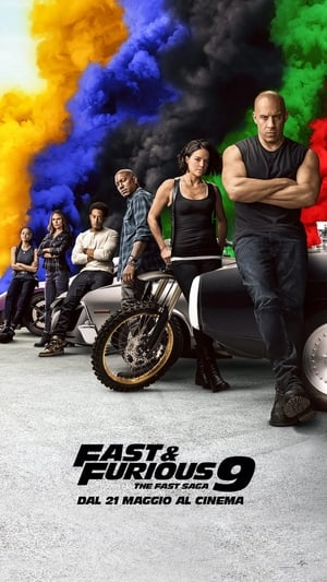 Poster Fast & Furious 9 - The Fast Saga 2021