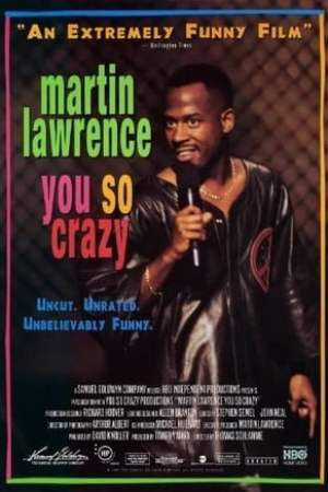 Poster Martin Lawrence: You So Crazy 1994