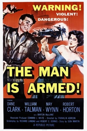 Poster The Man Is Armed 1956
