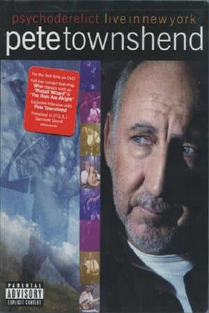 Image Pete Townshend Live in New York Featuring Psychoderelict