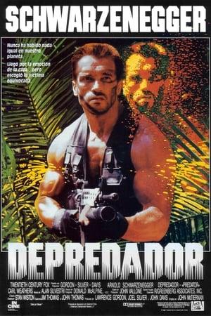 Depredador poster