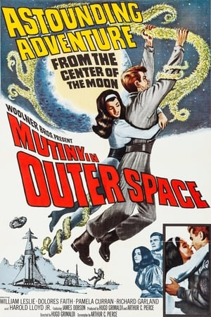 Poster Mutiny in Outer Space 1965