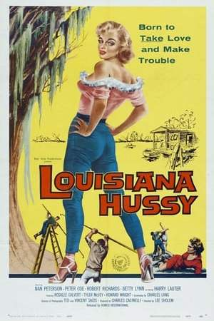 Poster The Louisiana Hussy 1959