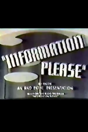 Information Please: Series 1, No. 1