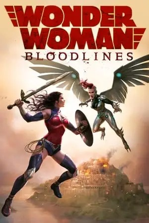 Poster Wonder Woman: Bloodlines 2019