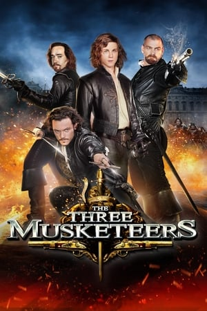 Poster The Three Musketeers 2011