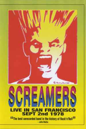 Image Screamers ‎– Live In San Francisco: Sept 2nd 1978