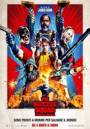 Poster The Suicide Squad - Missione suicida 2021