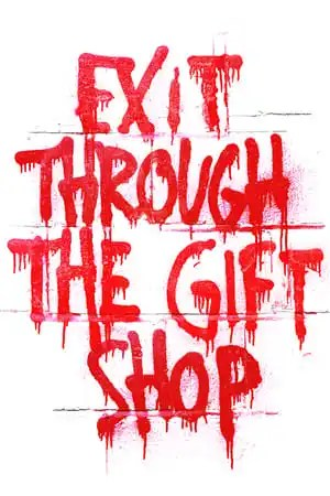 Poster Exit Through the Gift Shop 2010
