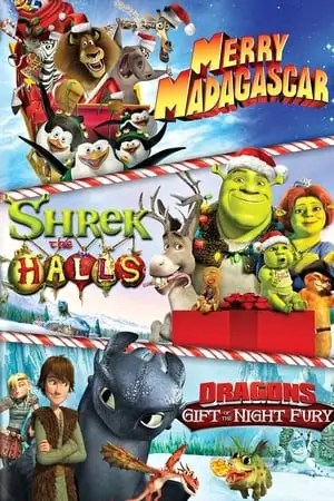 Image Dreamworks Holiday Classics (Merry Madagascar / Shrek the Halls / Gift of the Night Fury)