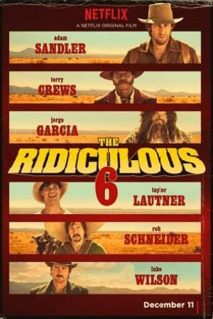 Poster The Ridiculous 6 2015
