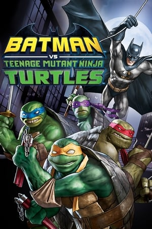 Poster Batman vs. Teenage Mutant Ninja Turtles 2019