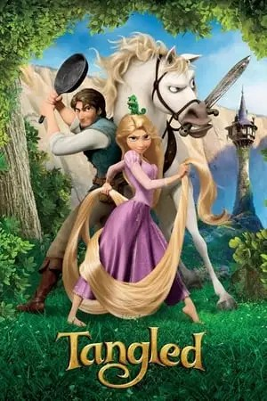 Poster Tangled 2010