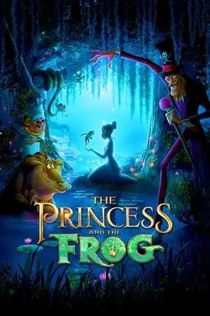 Poster The Princess and the Frog 2009