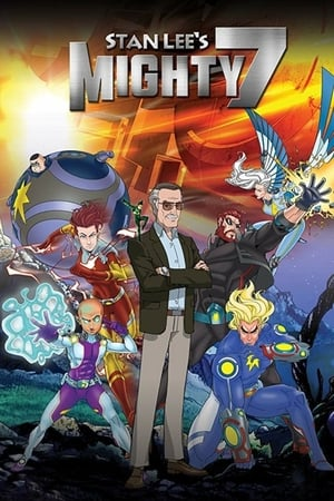 Poster Stan Lee's Mighty 7 2014