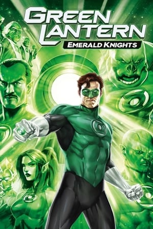 Poster Green Lantern: Emerald Knights 2011