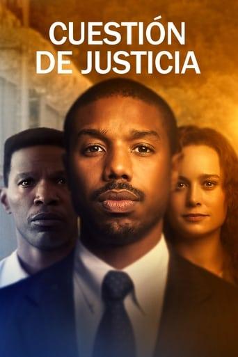 Cuestión de justicia Poster